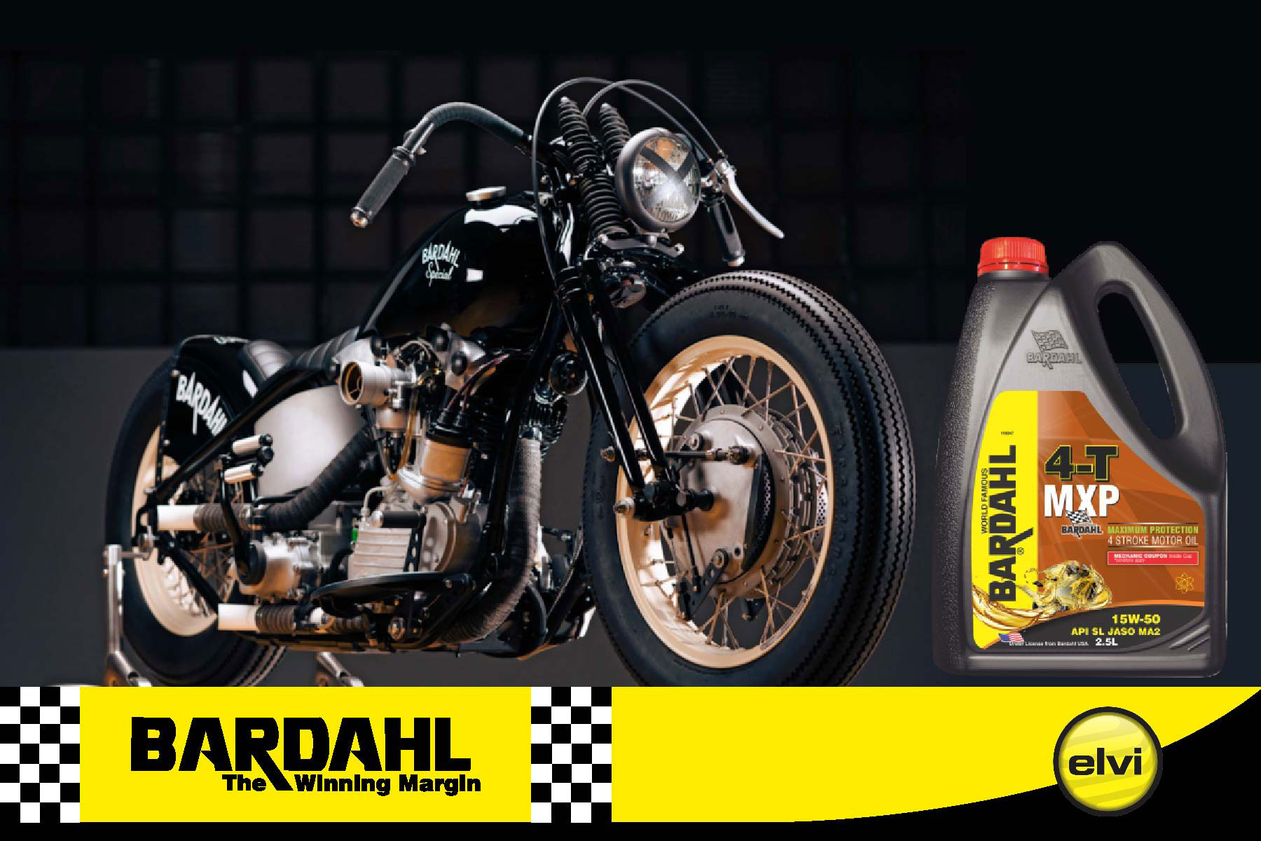 Bardahl launches premium heavy duty motorcycle oil