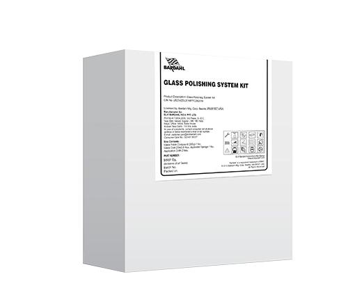 Glass Polishing System Kit